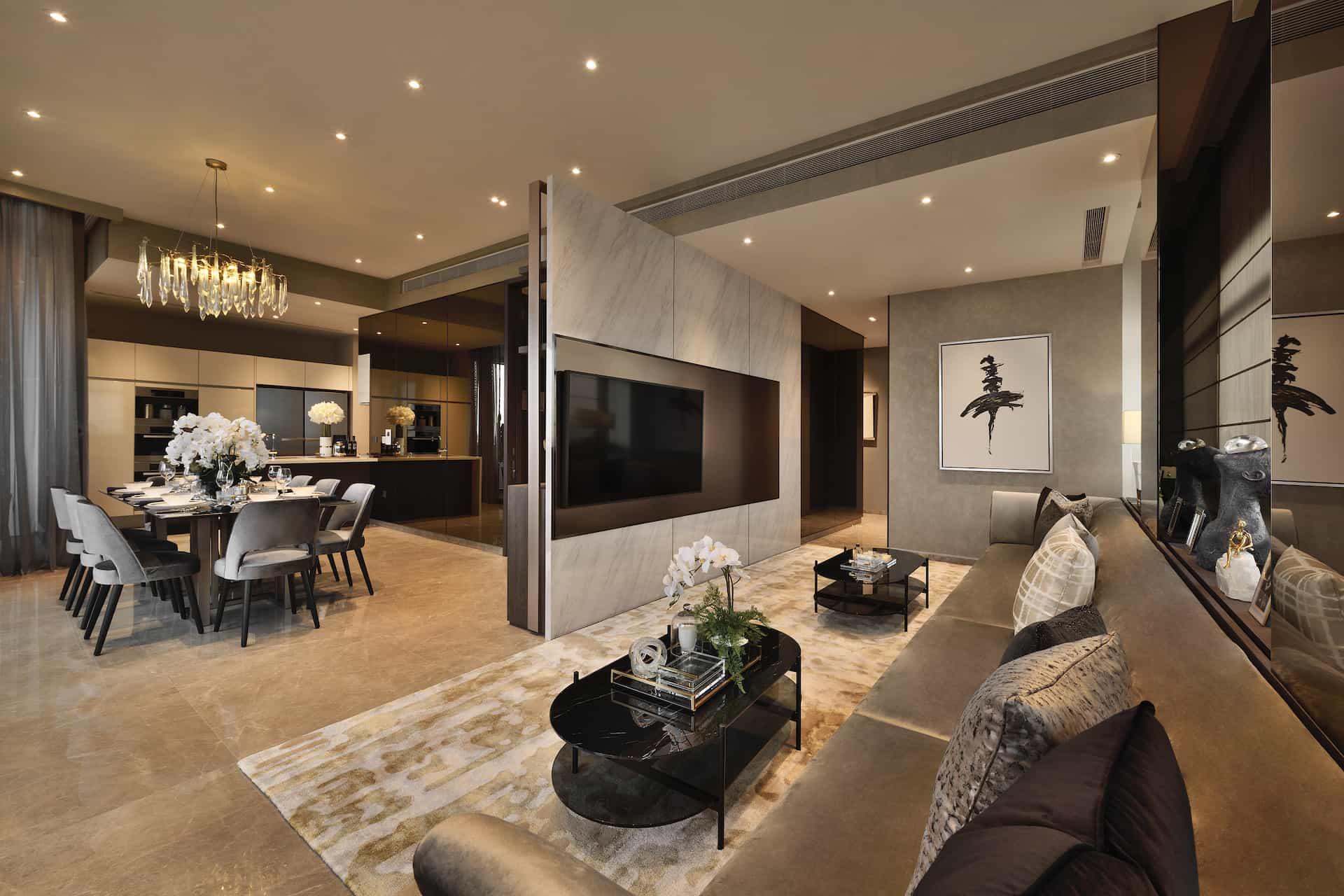 Nouvel 18 4 Bedroom Chalked Interior Design